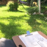 zeichnen und zur Ruhe kommen